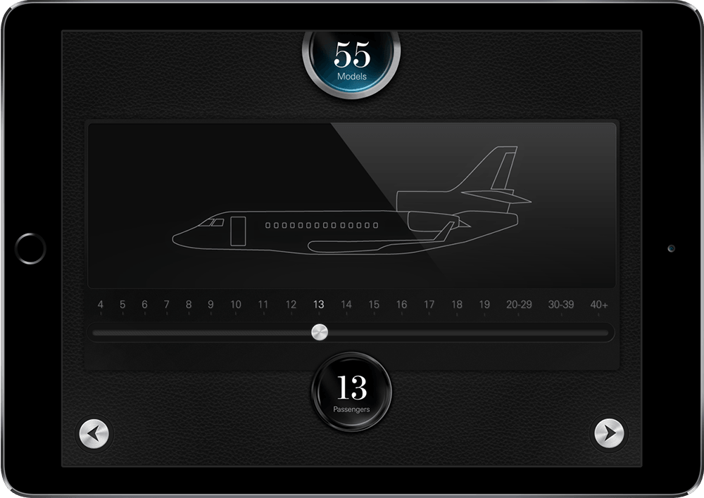 The Jet Business iPad Application